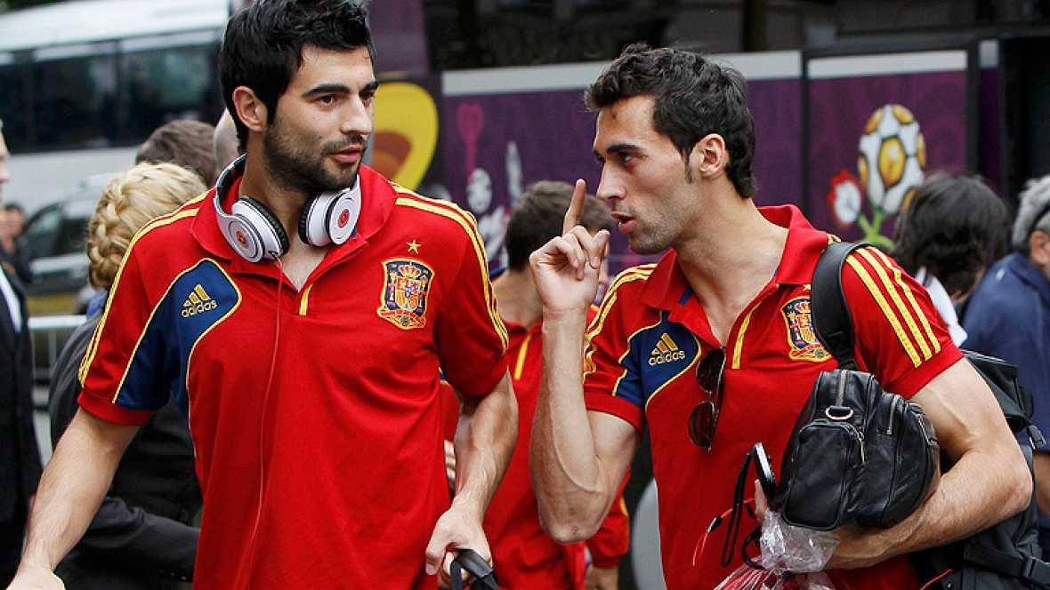 La selección ha llegado hasta la última etapa. Tras derrotar a Portugal en semifinales, los de Del Bosque ya están en Kiev, donde disputarán la gran final de la Eurocopa 2012.