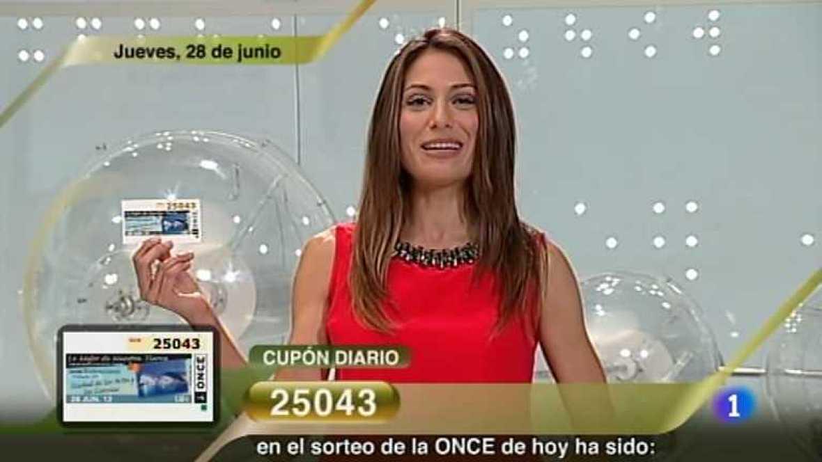 Sorteo ONCE - 28/06/12 - Ver ahora