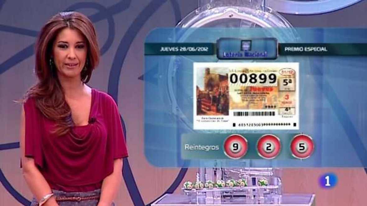 Lotería Nacional y Primitiva - 28/06/12 - ver ahora