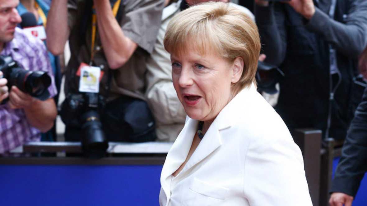 """Merkel insiste que no habrá """"ninguna prestación sin contraprestación"""""""