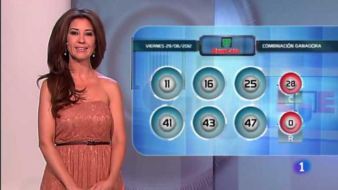 Bonoloto y Euromillones - 29/06/12 - ver ahora
