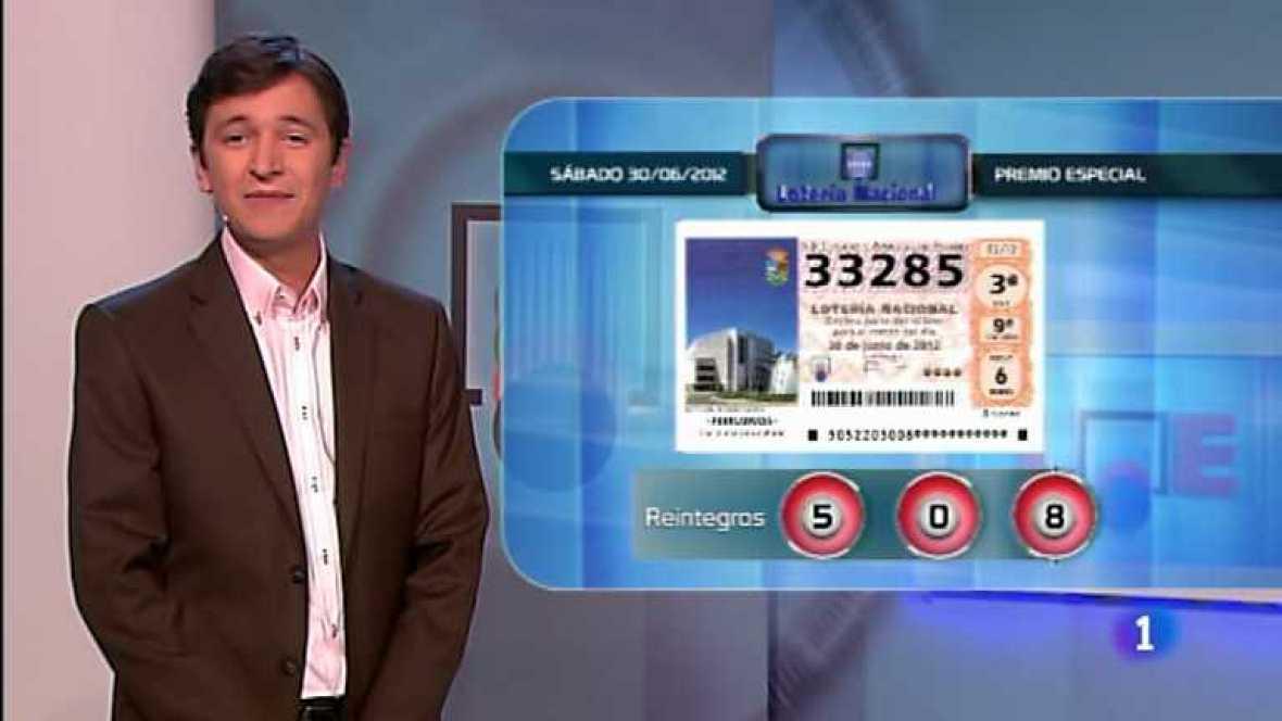 Lotería Nacional - 30/06/12 - ver ahora
