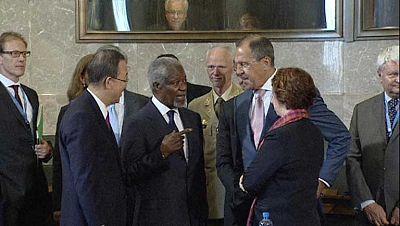 Kofin Annan consigue un acuerdo para poner fin a la violencia en Siria