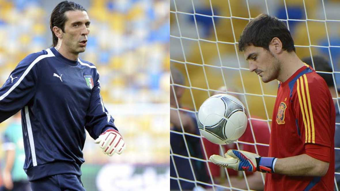 Casillas y Buffon, palabras de capitán