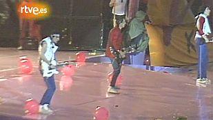 Los Rolling Stones en el estadio Vicente Calderón de Madrid (1982)