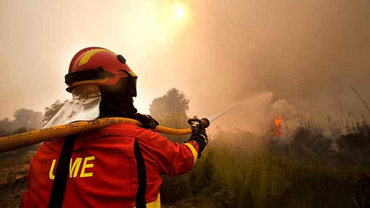 Los incendios de Valencia están estabilizados