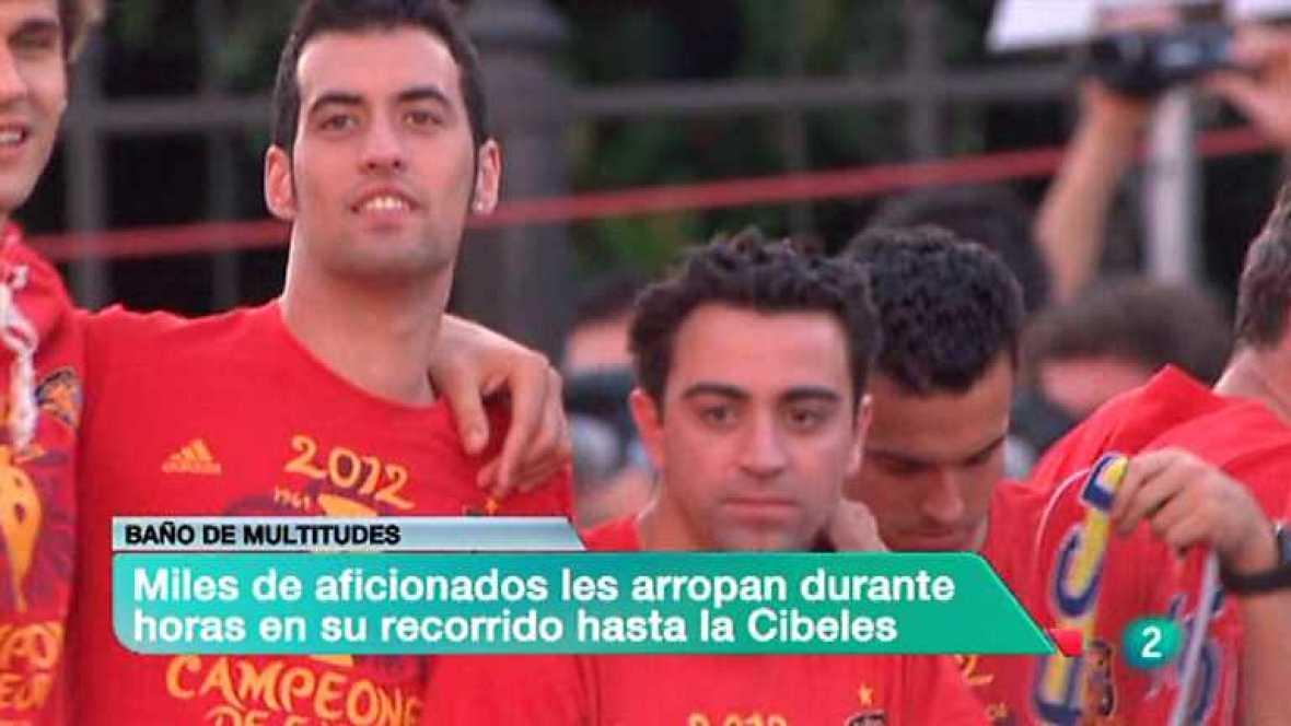 La 2 Noticias - 02/07/12 - Ver ahora