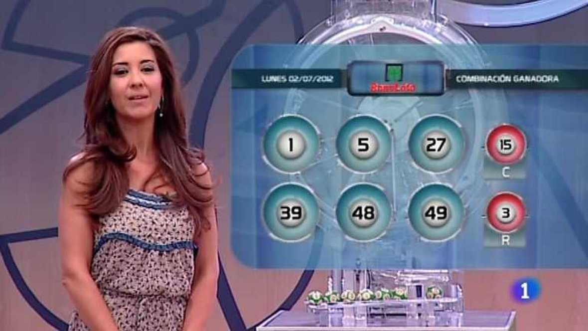 Bonoloto - 02/07/12 - Ver ahora