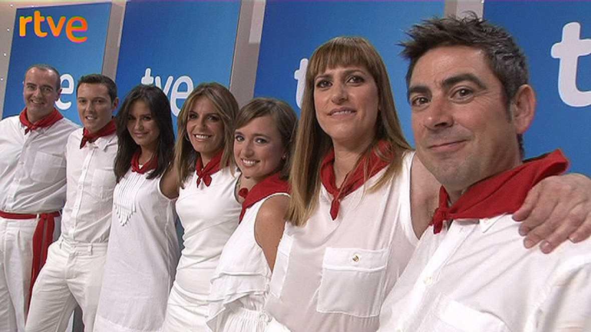 TVE,RNE Y RTVE.ES ofrecen en directo los encierros de San Fermín 2012