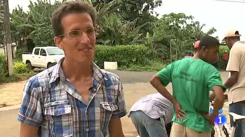 Españoles en el mundo - Santo Tomé y Principe - José Ramón