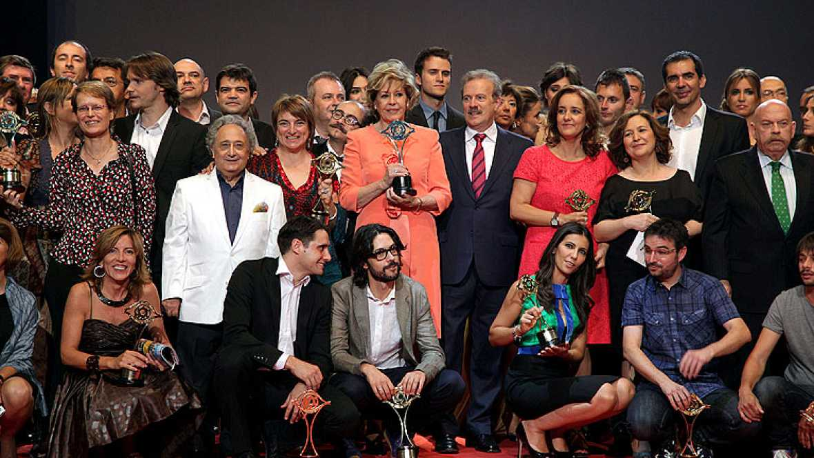 TVE, gran triunfadora de los Premios Iris de  la Academia de Televisión con 11 galardones