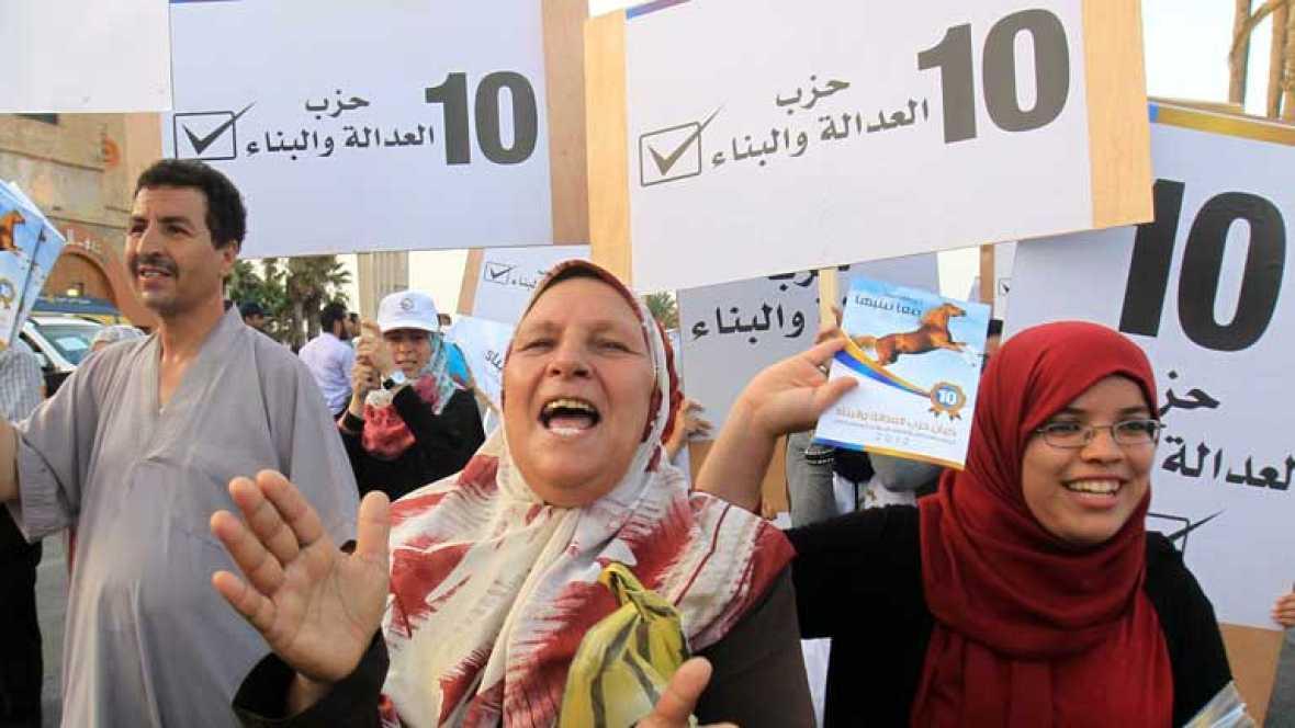 Primeras elecciones democráticas después de la caída de Gadafi