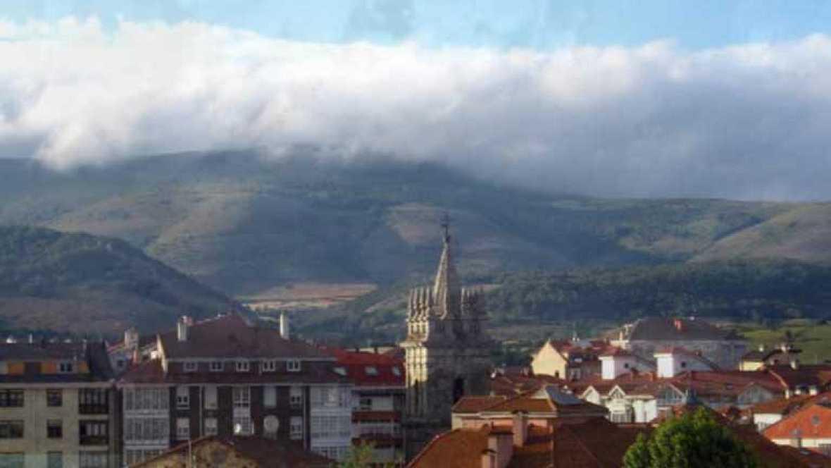 Lluvias en el Pirineo, área cantábrica y norte de Castilla y León