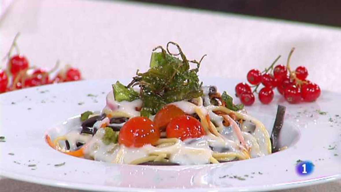 Cocina con Sergio - Spaguetti picantes con verduras - ver ahora