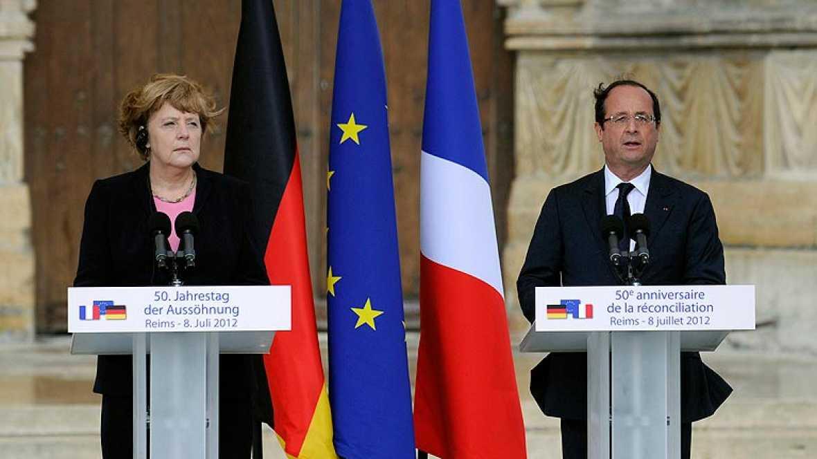 Medio siglo de relaciones pacíficas y provechosas entre Alemania y Francia