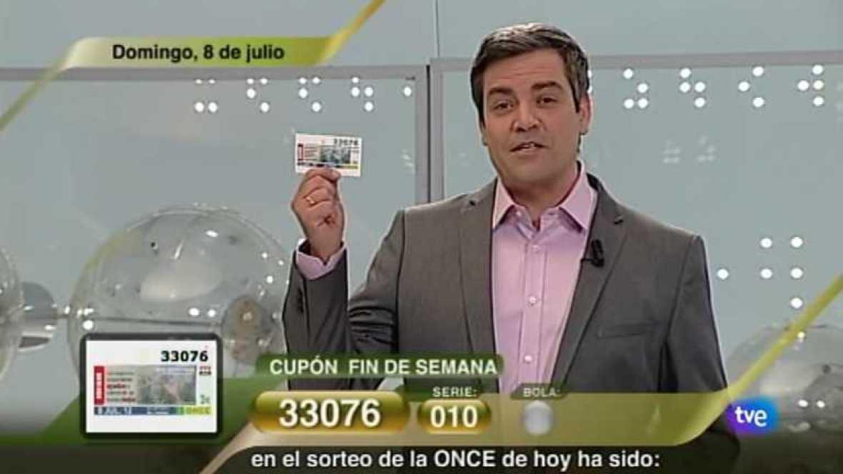 Sorteo ONCE - 08/07/12 - Ver ahora
