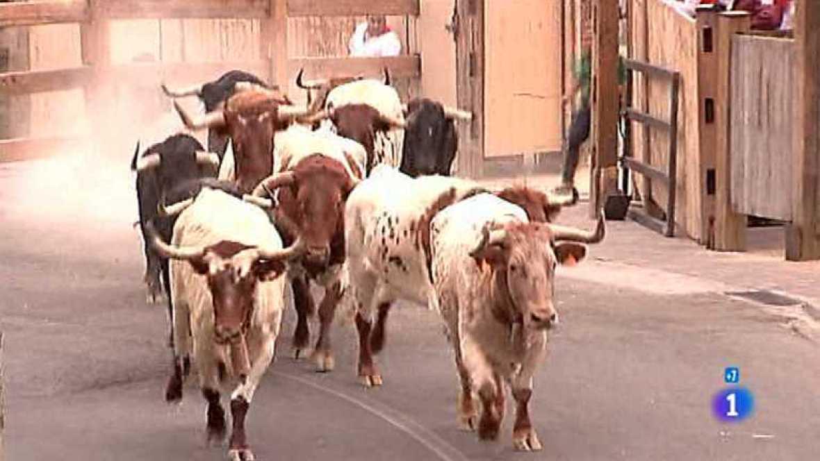 Tercer encierro de San Fermín 2012 - ver ahora