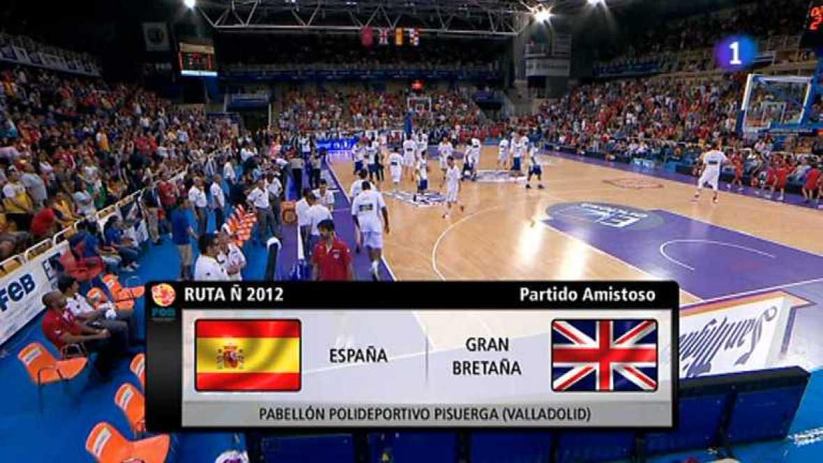 Baloncesto - Gira Preolímpica de la Selección española: España - Gran Bretaña -ver ahora