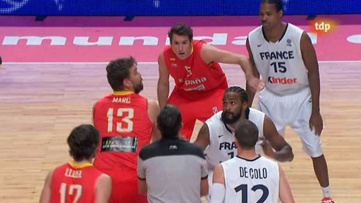 Baloncesto - Gira Preolímpica de la Selección española: España - Francia  -ver ahora