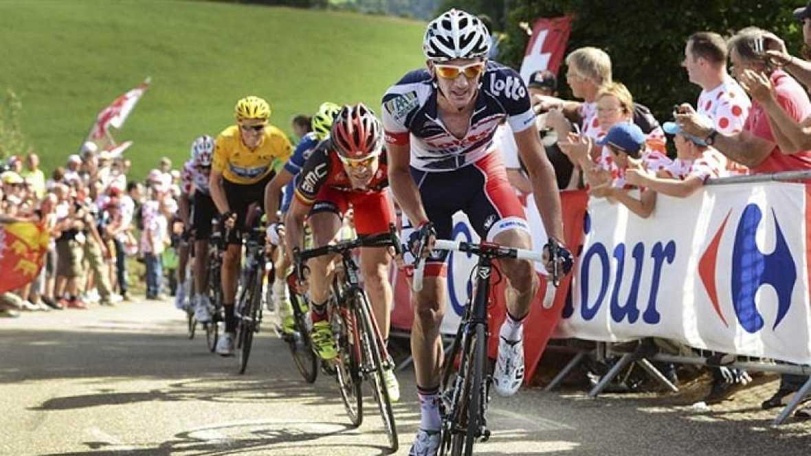 El Tour encara su primera gran etapa de alta montaña entre Macon y Bellegarde Sur Valserine de 194 km.
