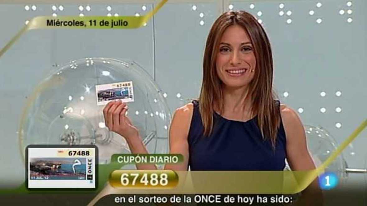 Sorteo ONCE - 11/07/12 - Ver ahora