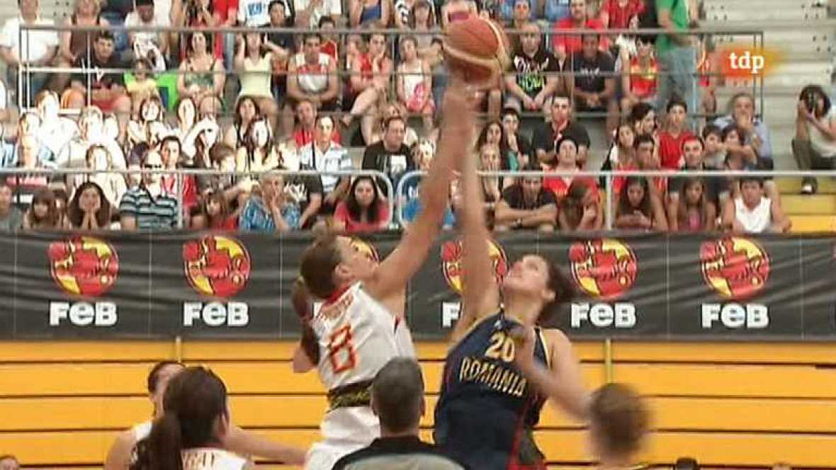Baloncesto femenino - Campeonato de Europa: España-Rumanía - Ver ahora