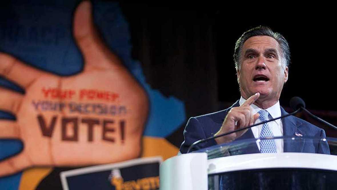 Romney, abucheado al condenar la reforma salud ante una asociación afroamericana