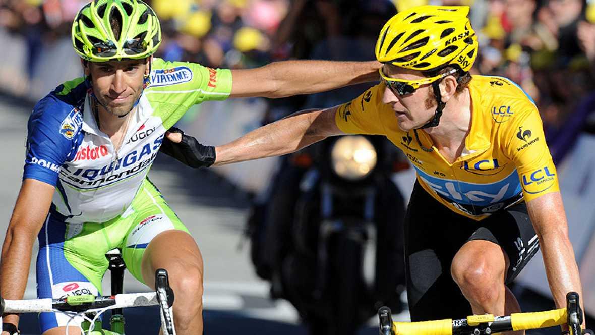 El francés Pierre Rolland (Europcar) ha ganado hoy la undécima etapa del Tour de Francia, en la que el italiano Vicenzo Nibali (Liquigas) puso en dificultades al líder, Bradley Wiggins (Sky), mientras que el australiano Cadel Evans (BMC) no aguantó e