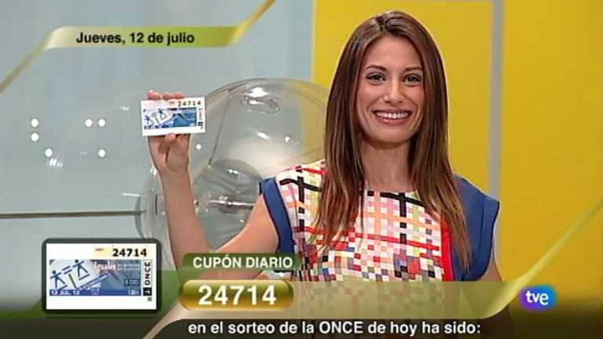 Sorteo ONCE - 12/07/12 - Ver ahora
