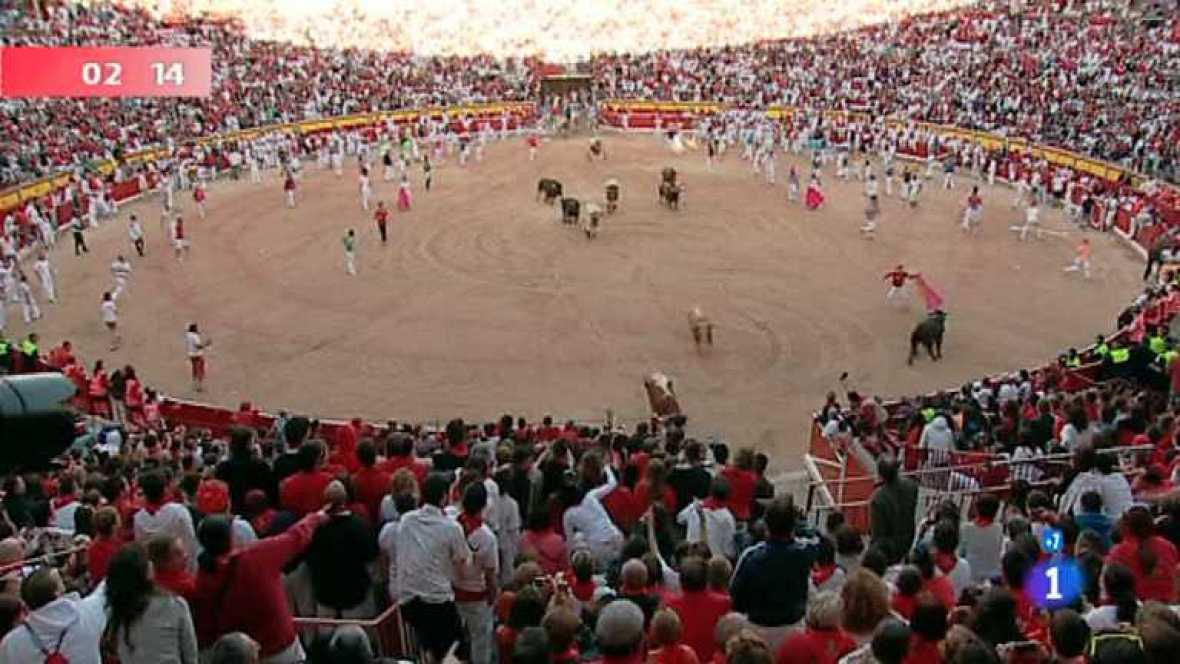 Séptimo encierro de San Fermín 2012 - ver ahora