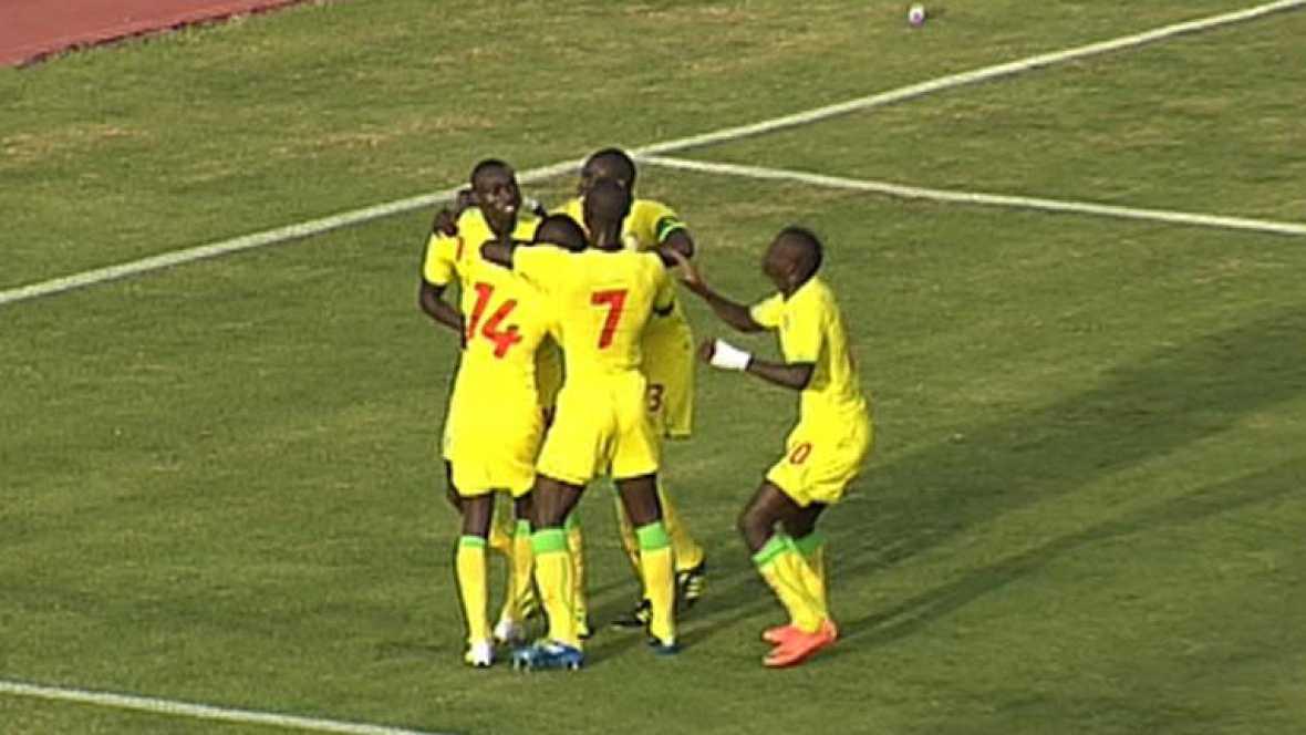 Seck abre el marcador y adelanta a Senegal