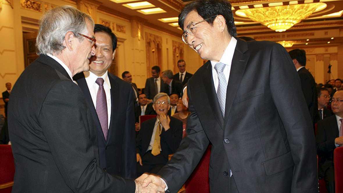 La Fundación Samaranch ha sido presentada en Pekín, donde el español dejó huella. China está agradecida por la concesión de los Juegos Olímpicos de hace cuatro años, cuando Samaranch era presidente del COI.