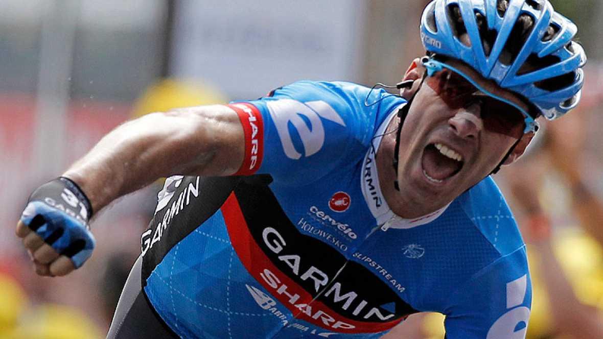 El británico David Millar ha conseguido la victoria en la duodécima etapa del Tour de Francia, al imponerse en una escapada en la que el español Egoi Martínez tuvo su oportunidad y acabó tercero.