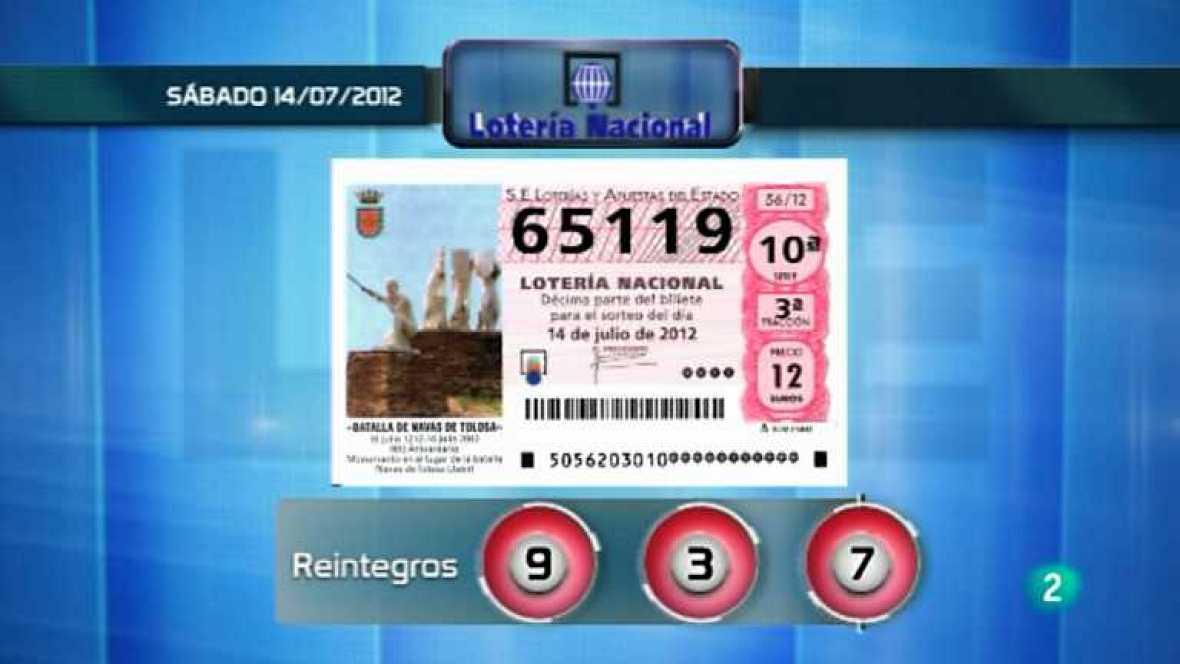 Lotería viajera - 14/07/12 - Ver ahora
