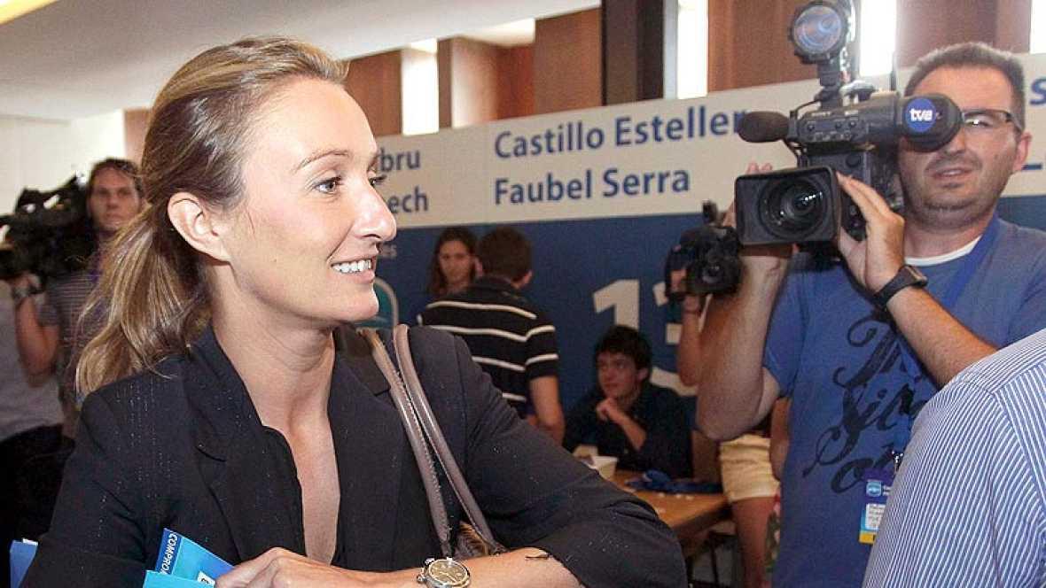 """Andrea Fabra dice que su expresión a un diputado socialista fue """"impropia"""""""