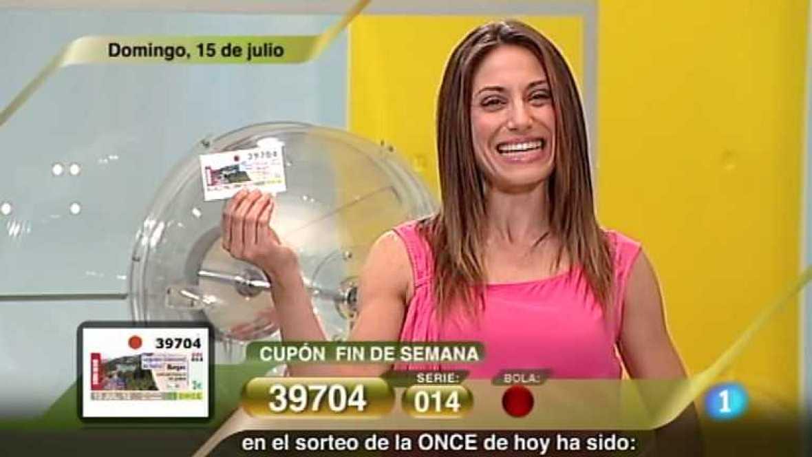 Sorteo ONCE - 15/07/12 - Ver ahora
