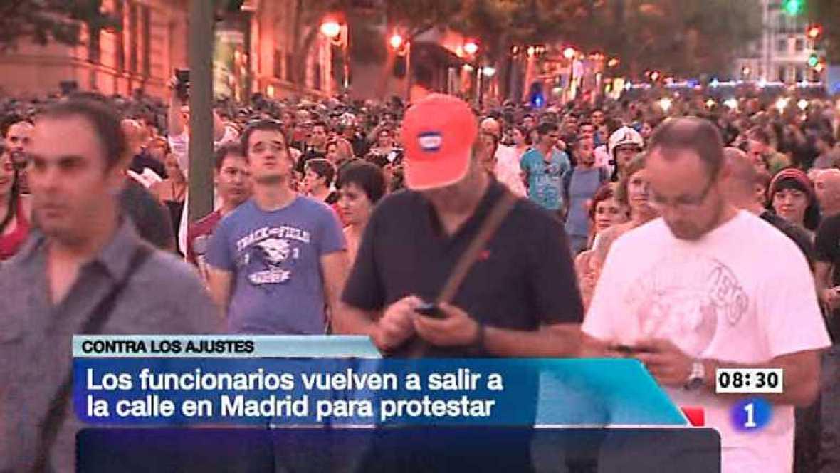 Telediario - 8.30 horas - 16/07/12 - Ver ahora