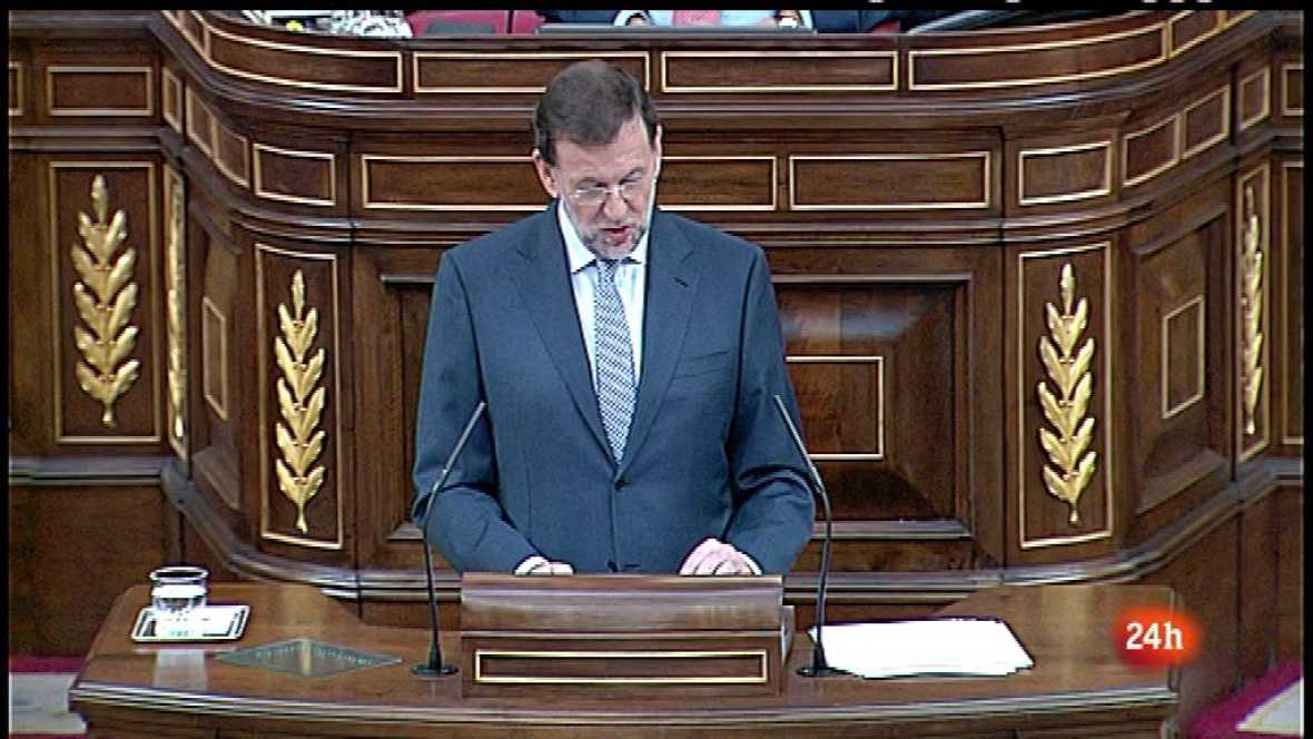 Parlamento - El foco parlamentario - Anuncios de Rajoy - 14/07/2012