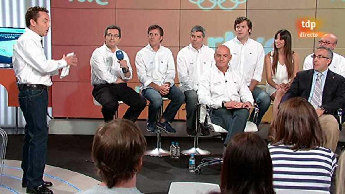 Presentación de la cobertura de RTVE para los JJOO de Londres 2012 - ver ahora
