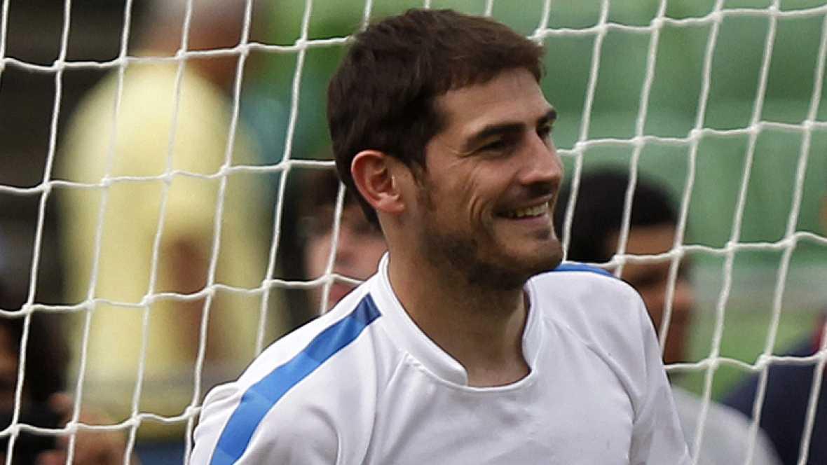 Casillas solo piensa en ganar con el Madrid