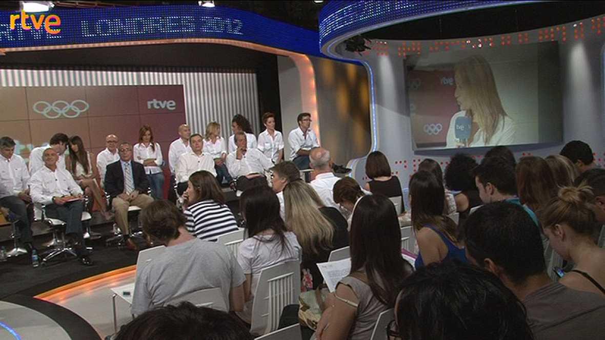 Presentación del 'equipo olímpico' de RTVE