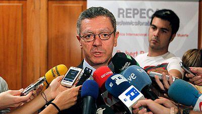 Gallardón celebra la elección del magistrado Gonzalo Moliner como presidente del CGPJ