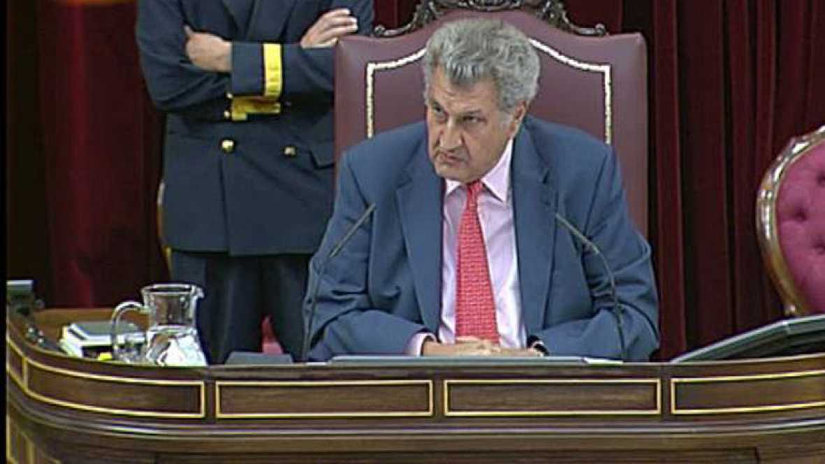 El presidente del Congreso amonesta a Andrea Fabra por sus insultos