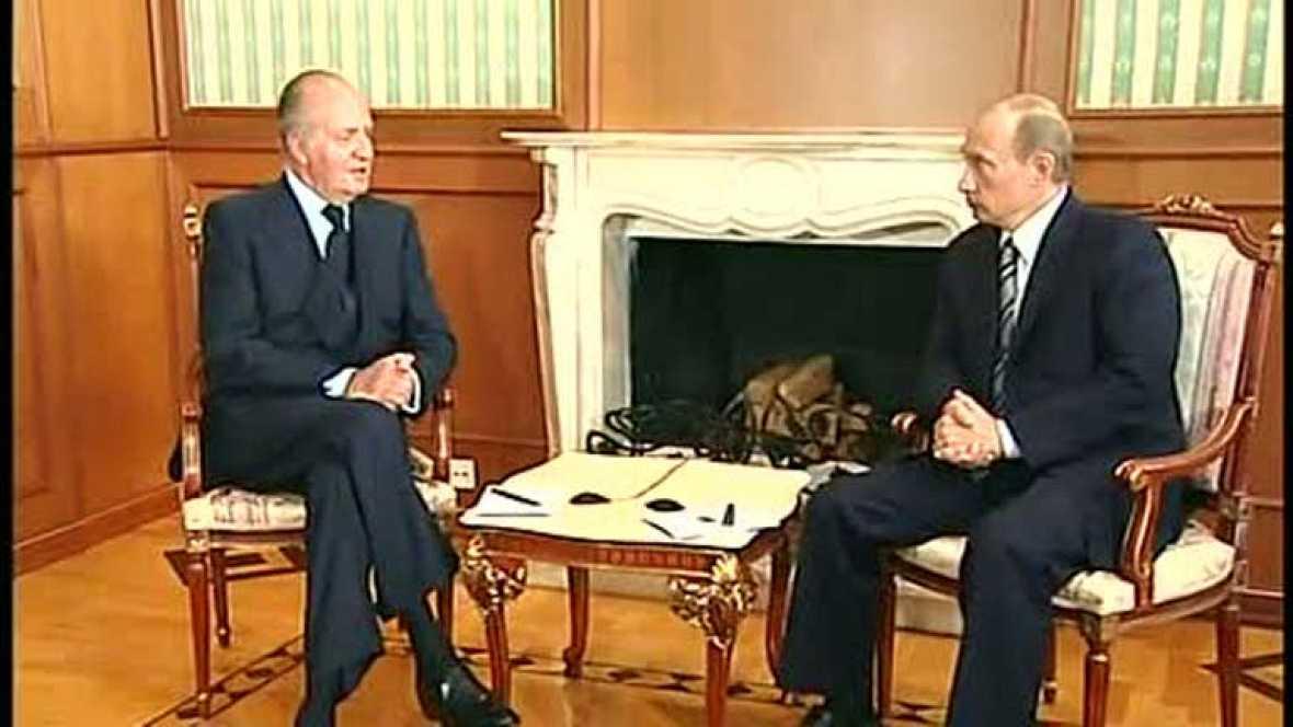 Previa del viaje del rey a Rusia para tratar de conseguir el contrato del 'AVE ruso'