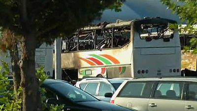 Seis muertos en un atentado en Bulgaria contra un autobús de turistas israelís