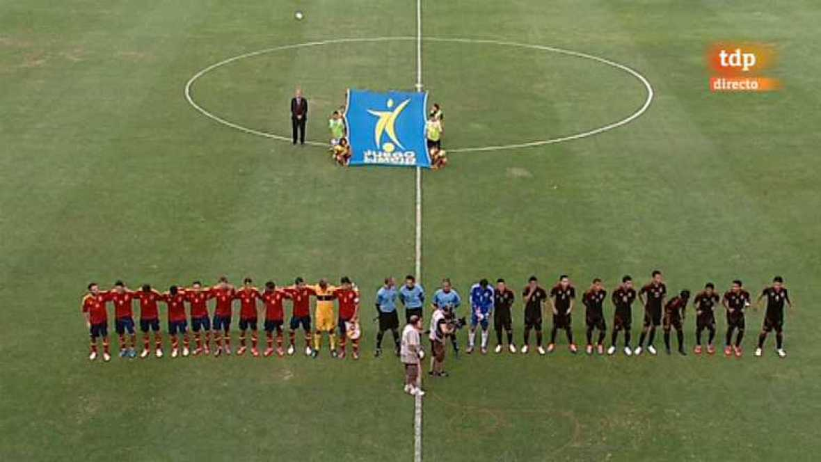 Fútbol - Preparación Preolímpica de la Selección española: España - México - ver ahora