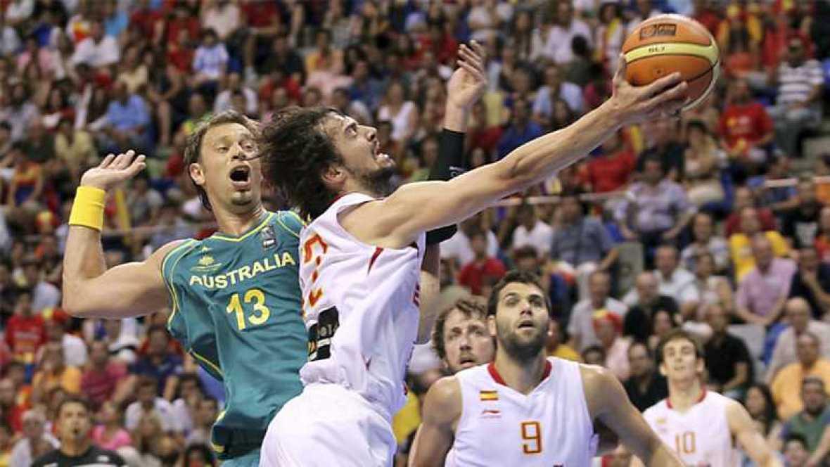 Baloncesto - Gira Preolímpica de la Selección española: España - Australia - ver ahora
