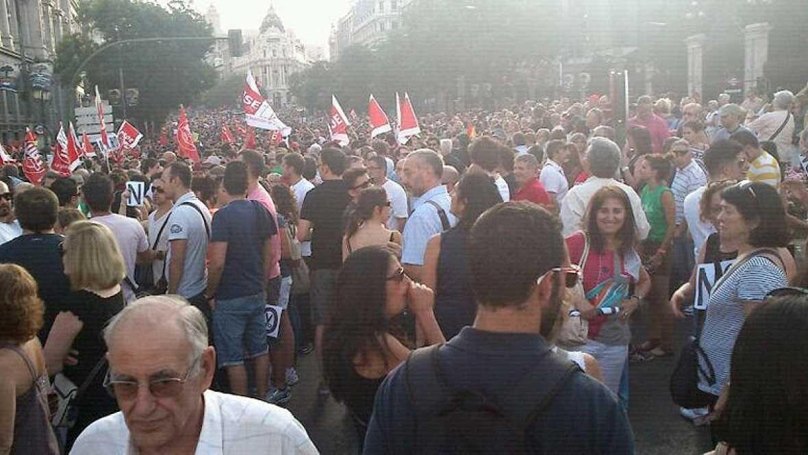 Manifestaciones de los sindicatos en toda España