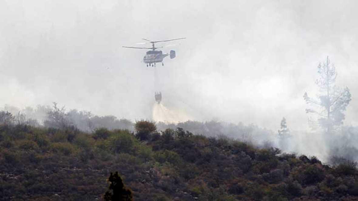 Estabilizado el incendio en Tenerife después de arrasar 5.200 hectáreas