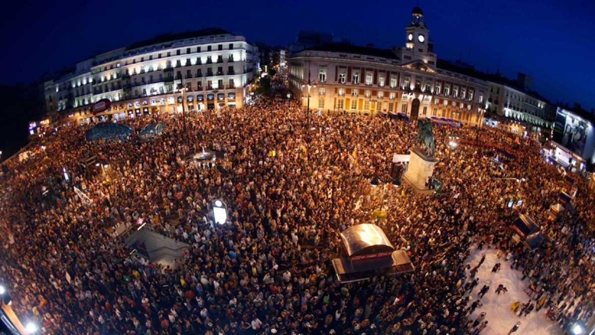 PROTESTAS CONTRA LOS RECORTES